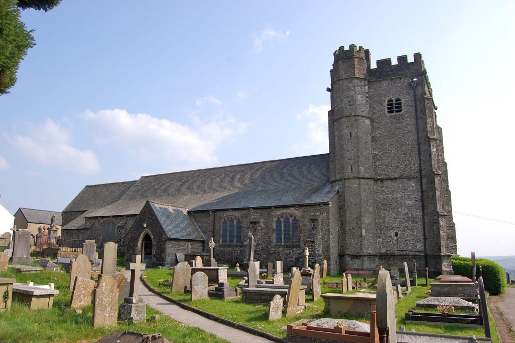 Parish Church, Llantrisant, Wales