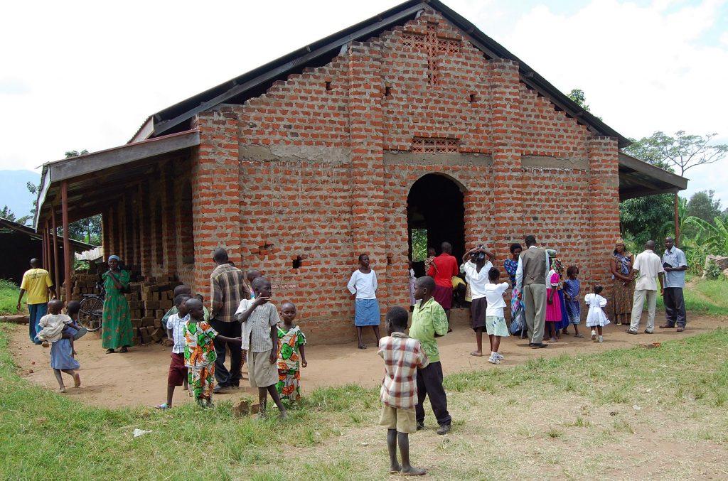Bukhumwa Christian Church, near Mbale, Uganda.