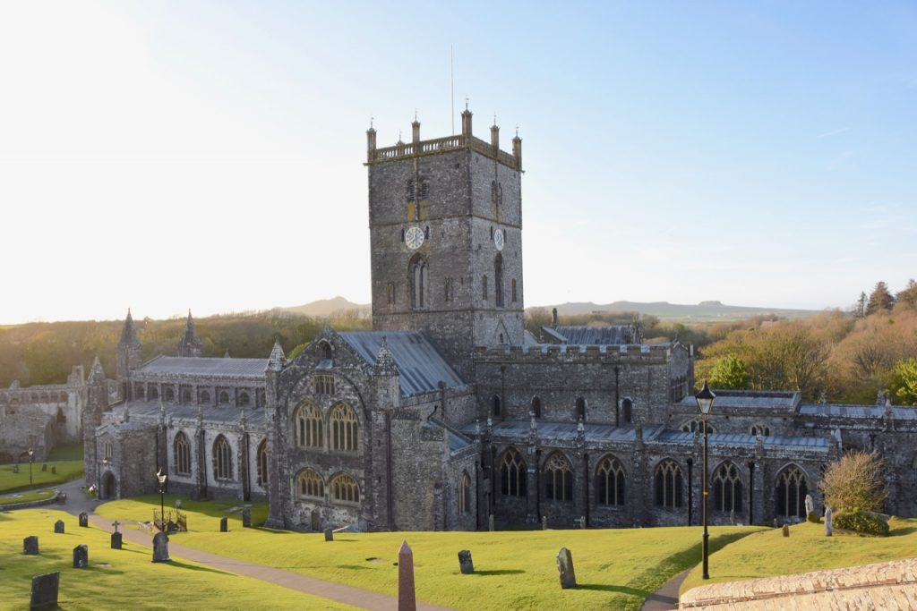 St David's Cathedral, Pembrokeshire.