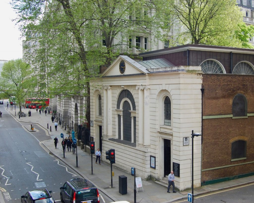 St Botolphs without Aldersgate, London