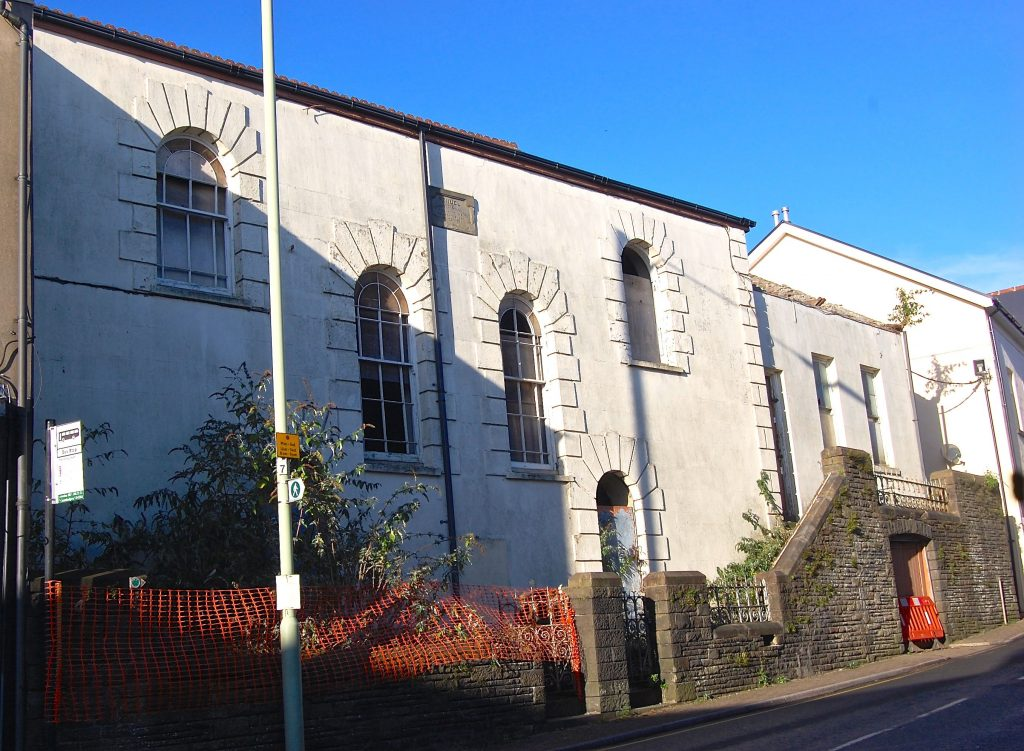 Former Peniel Chapel, Llantrisant, Wales.