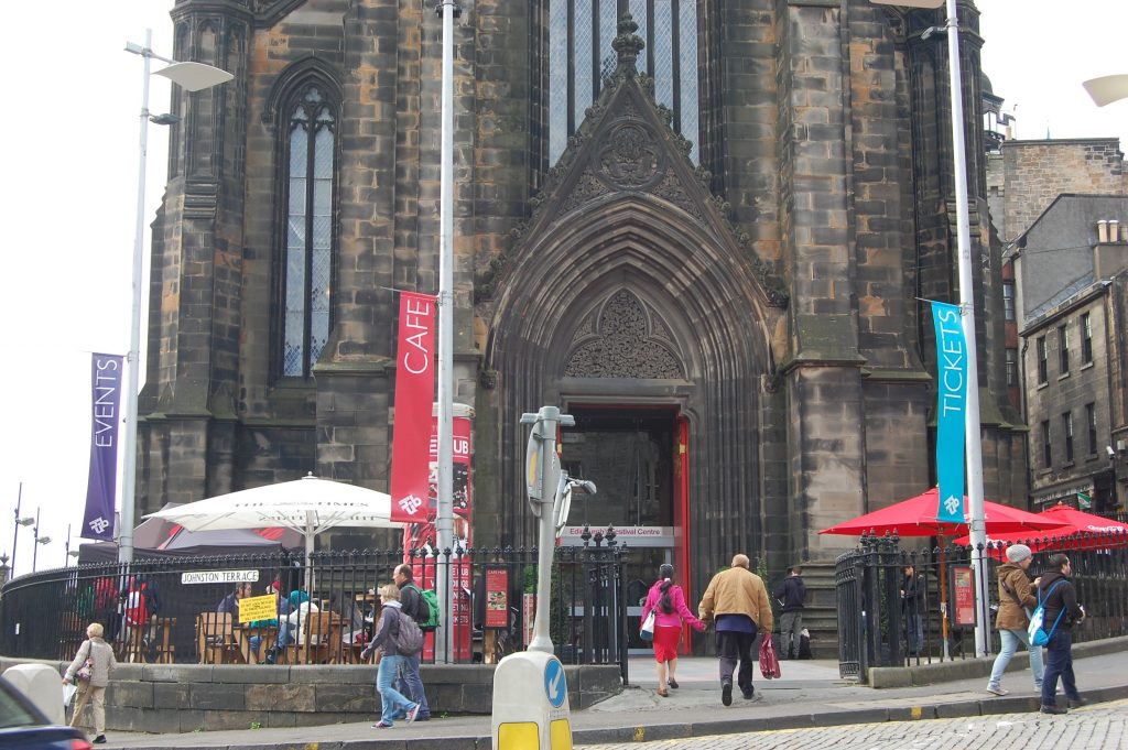 Former Highland Tolbooth, St. John's Church, Edinburgh.