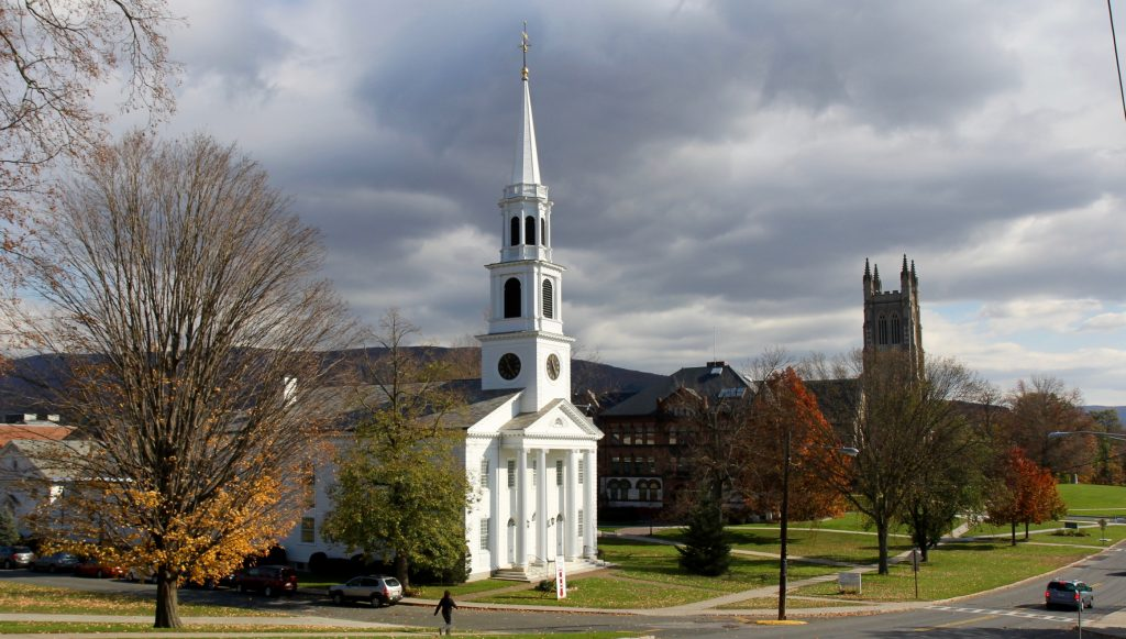 First Congregational Church, Williamsburg, MA, USA .