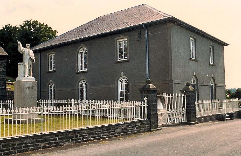 Rowlands Chapel, Llangeitho, Wales.