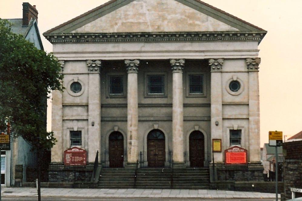 Argyle Presbyterian Church, Swansea, Wales.