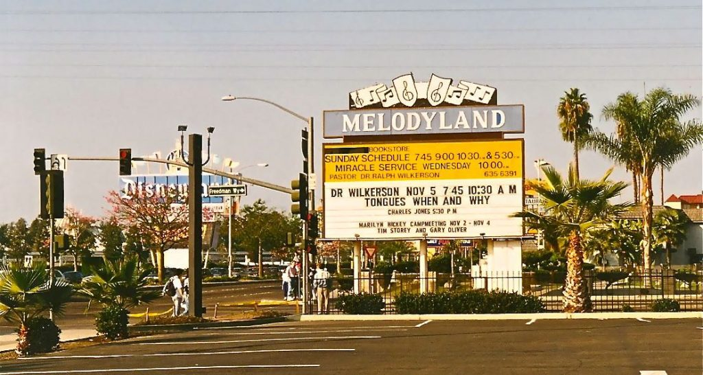 Melodyland Christian Center, Anaheim, CA, USA.